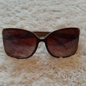 DE Designer Brown Ombre Sunglasses